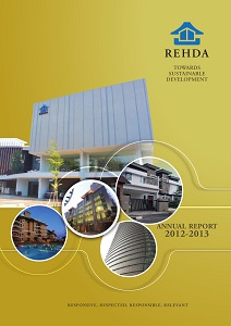 REHDA Annual Report 2012-2013 (Cover)