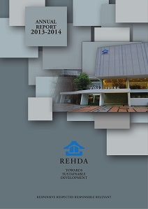REHDA Annual Report 2013-2014 (Cover)
