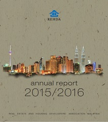 REHDA Annual Report 2015-2016 (Cover)