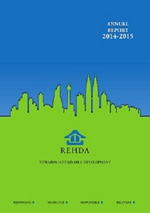 REHDA Annual Report 2014-2015 (cover)