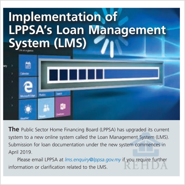 (2019/02) Implementation of LPPSA's Loan Management System (LMS)