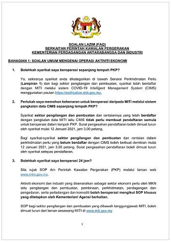 SOALAN LAZIM MITI PKP 13 JAN-26 JAN 2021_FINAL_DIKELUARKAN PADA 12 JANUARI 2021
