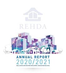 Cover-REHDA Annual Report 2020-2021